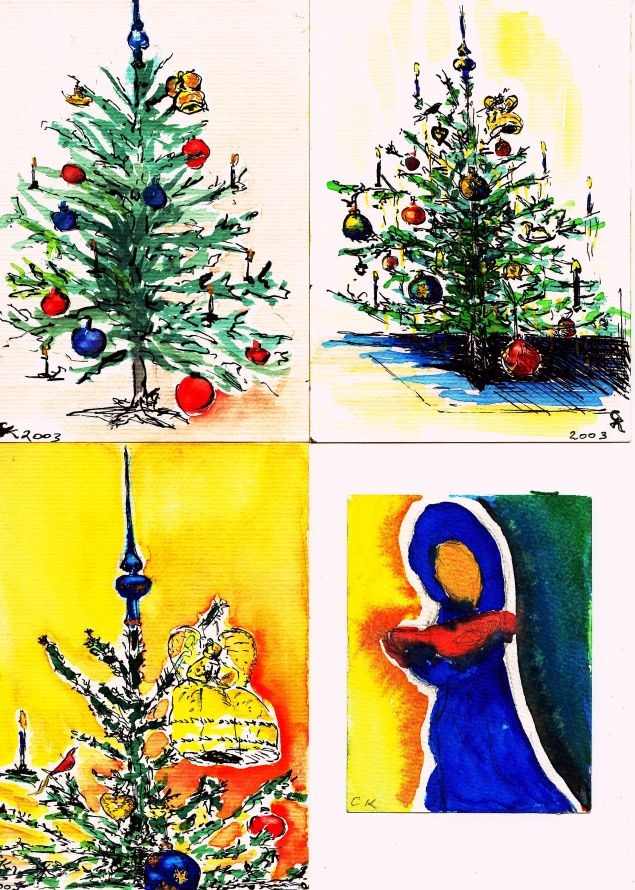 FourChristmasCards