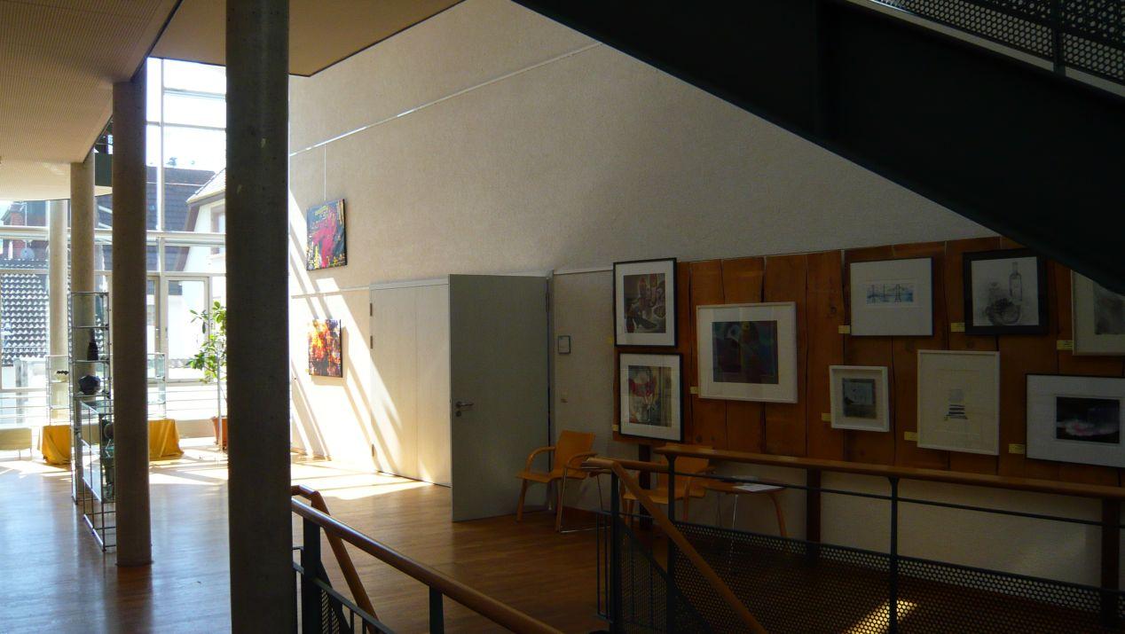 Ausstellungsraum im Rathaus Malsch