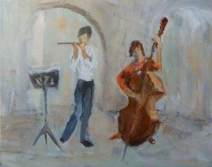 strassenmusikantinnen